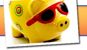Piggy banks, cat and dog coin banks, mechanical coin banks, and more